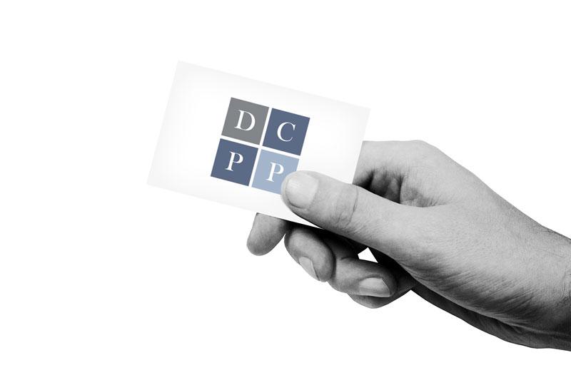 Logo en huisstijl voor De Cock Peeters en Partners