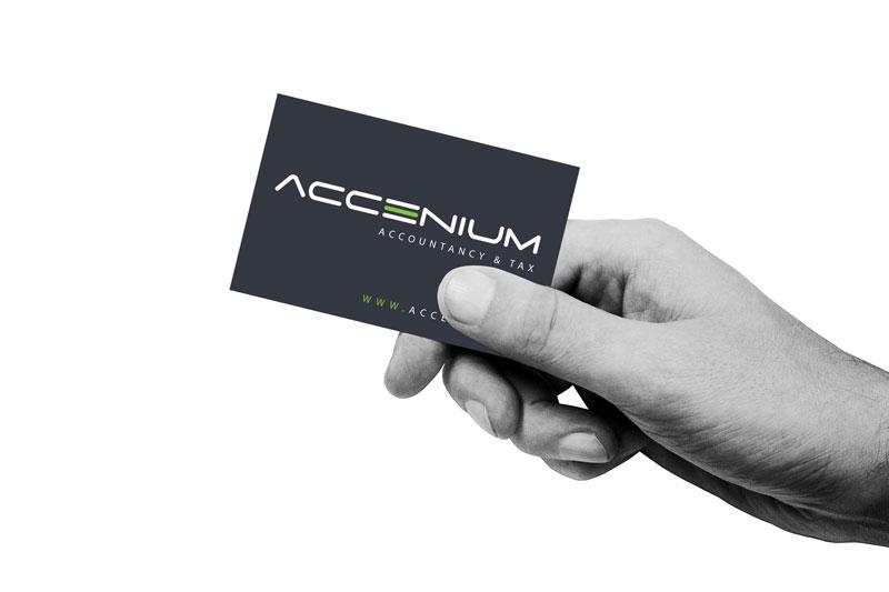 clean, cool hand-visitekaartje-accenium