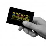 cool visitekaartje logo en huisstijl Macova domotica