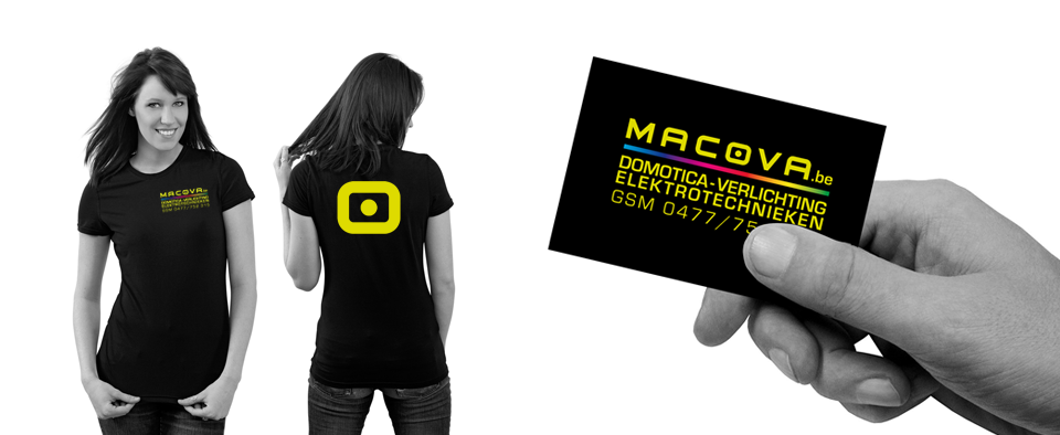 Spitsdesign ontwerpt logo en huisstijl voor Macova