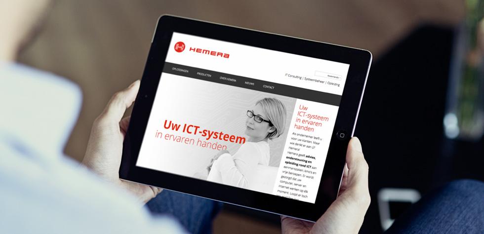 responsive website in 3 talen met cms
