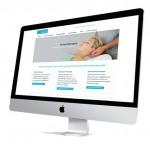 stijlvol en responsive webdesign website voor kinesist