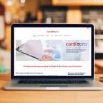 responsive website voor cardiologen