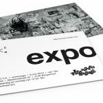 uniek ontwerp flyer expo scrota