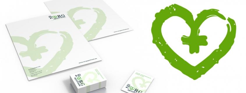grafisch ontwerp logo en huisstijl voor apotheker