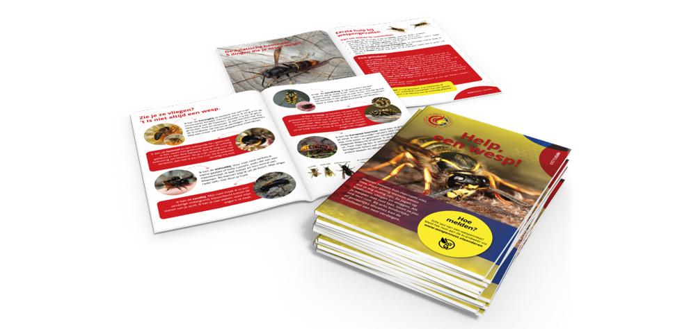 grafisch ontwerp brochure brandweer